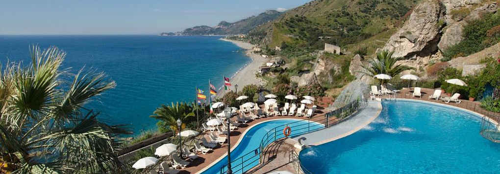 Отель BAIA TAORMINA GRAND PALACE HOTEL & SPA 4*. Италия, Сицилия.