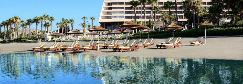 Отель LE MERIDIEN LIMASSOL SPA & RESORT 5*, Кипр, Лимассол.
