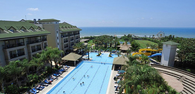 Отель ALVA DONNA BEACH RESORT COMFORT 5*, Турция, Сиде.