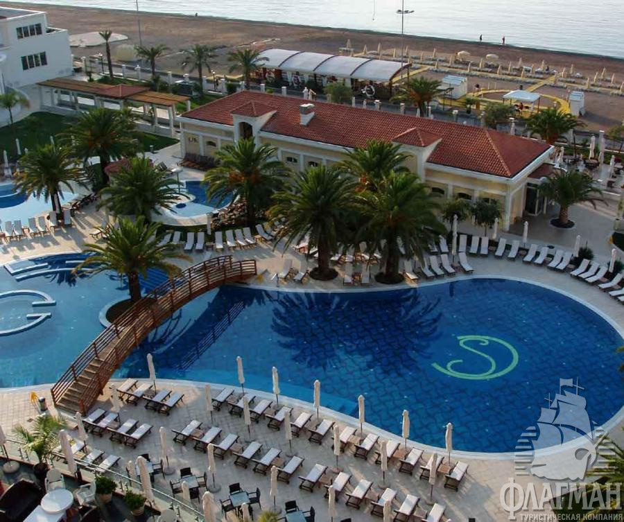 Отель SPLENDID BEACH RESORT 5* в Бечичи